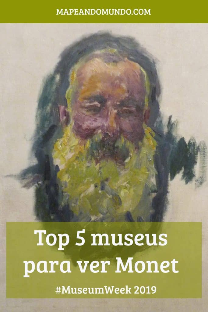 Museum Week 2019 Top 5 museus para ver obras de Monet